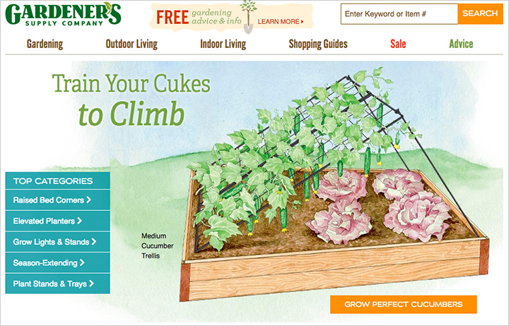 Ten websites to help you grow your best vegetable garden for Gardeners supply company