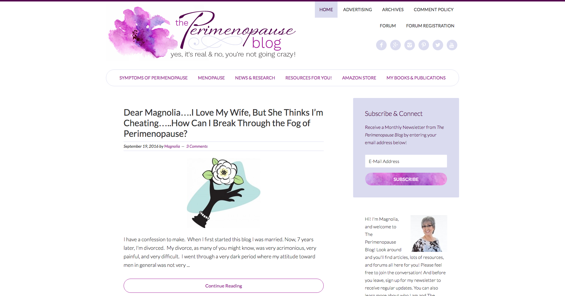 The Perimenopause Blog