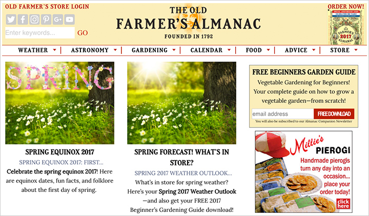 Old Farmers Almanac